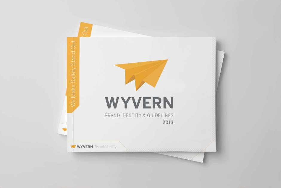 Wyvern Brand Guidelines mock up
